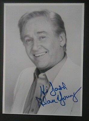 Alan Young Mister Ed Television Actor Autographed 5x7 PHOTOGRAPH LIFETIME COA.