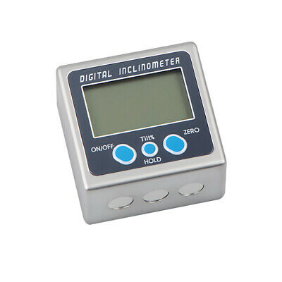 LCD Digital Inclinometer Level Box Protractor Angle Meter 0.05° Resolution T8W4
