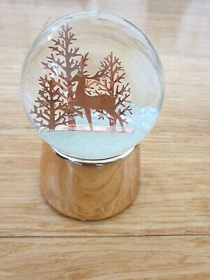 Musical Snow Dome W Forest Reindeer Morgan & Finch rrp $39.95