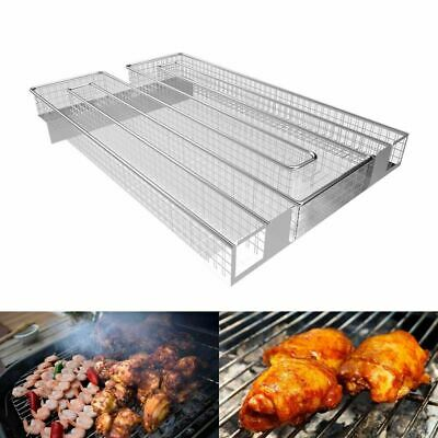 Stainless Steel BBQ Barbecue Flavor WoodChip Grill Cooking Cold Smoke Generator