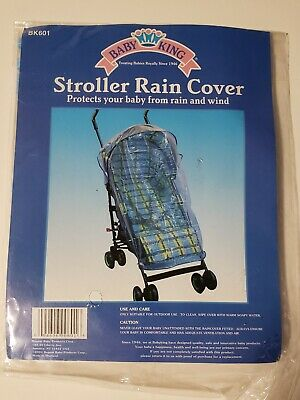 Baby Stroller Rain Cover Wind Protects Your Baby From Wind & Rain Outdoors NEW!