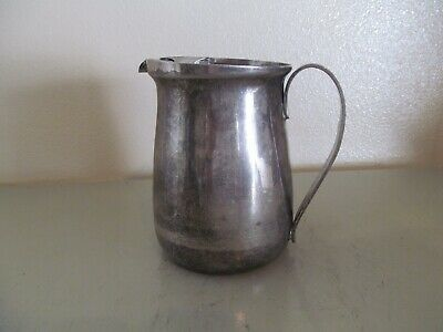 1804... Oneida Silver Plate Water Pitcher with Ice Guard / Lip  - Attic Fresh!