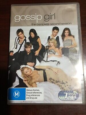 GOSSIP GIRL The Complete Second Season Very Good Condition 7 DVDs R 4 PAL