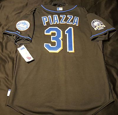 921d9cfda MAJESTIC NEW YORK Mets  31 Mike Piazza Authentic Cool Base Jersey ...