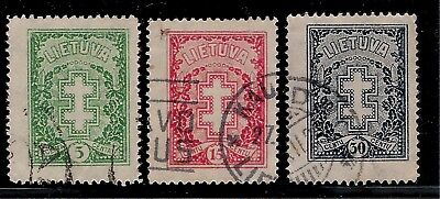 LITHUANIA 1926 Old Stamps - Double-Barred Cross