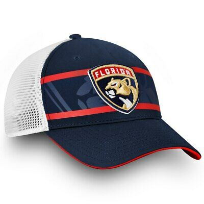 hot sale online abb6b f69ad NHL Florida Panthers Fanatics Branded Authentic Pro Adjustable Hat  –Navy White