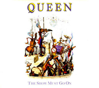Queen – The Show Must Go On 1991 CD 4 x Track Single  - Classic Rock NEW!
