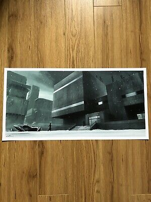 Blade Runner 2049 By Chris Skinner Limited Edition Lithograph - Not Mondo