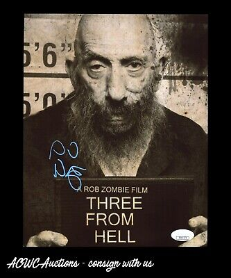 Autographed 8x10 Photo -  Sid Haig (Three From Hell) - JSA Certified