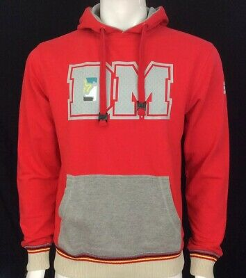 Clothing, Shoes & Accessories Drunknmunky Fiery Red 'initial' Hoodie Size L Bnwt