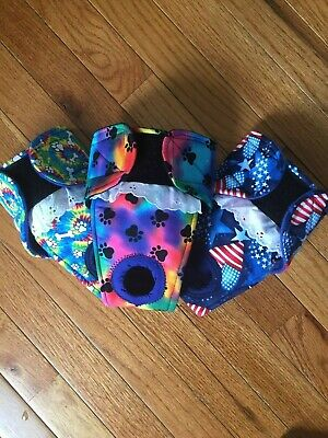 20% off 3 pack      female dog diapers     size SMALL