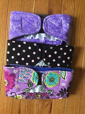 20% off 3 pack      female dog diapers     size XL