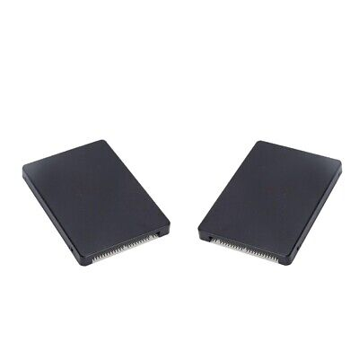 2pcs M.2 NGFF SATA SSD to 2.5 inch IDE 44PIN Converter with Case Enclosure