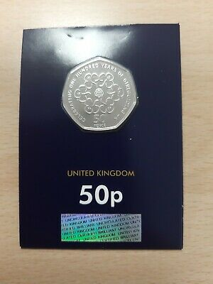 2019 GIRL GUIDES. Fifty Years of 50p. Fifty pence. Brilliant Uncirculated. NEW