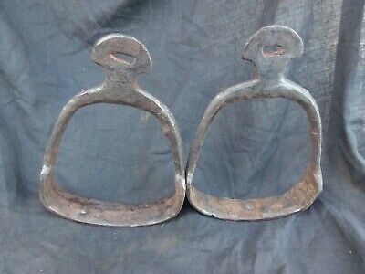 pair of stirrups Khazar Kaganate. Saltovo Mayatskaya culture 8-10 century