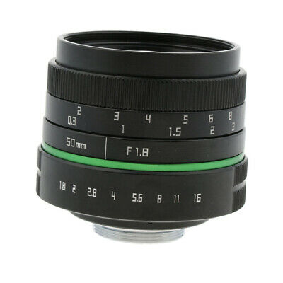 50mm F/1.8 APS-C Manual Fixed Prime Lens for Sony Nikon Canon Digital Camera