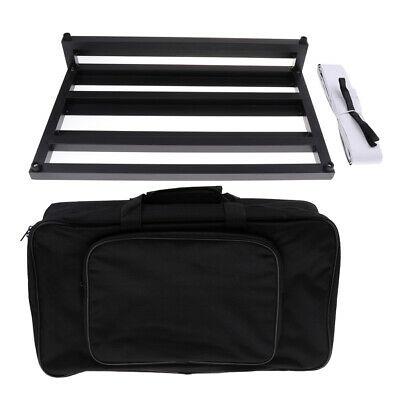 Electric Guitar Effect Pedalboard with Gig Bag for Guitar Parts Accessories