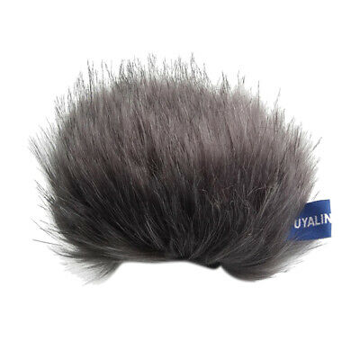 Furry Windscreen Windshield Cover Muff for Tascam DR-44WL Stereo Microphone