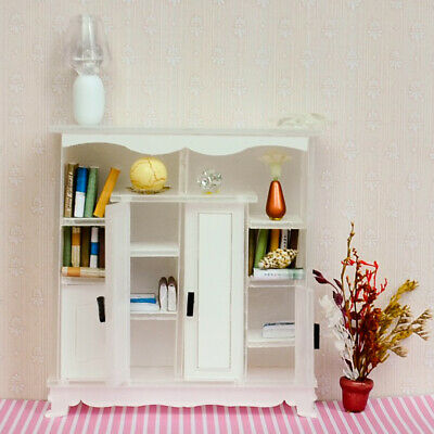 1/12 Dolls House Miniature Furniture Cabinet Cupboard Living Room Accessory