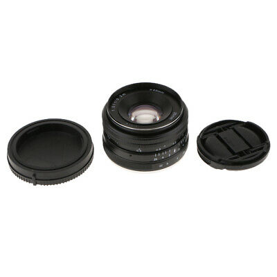 35mm F/1.7 Manual Focus Prime Fixed Lens For Sony E Mount Mirrorless Cameras