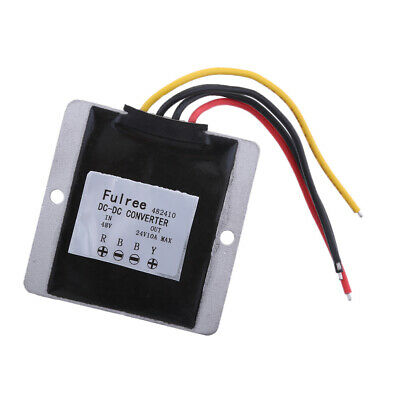 uxcell Voltage Converter Regulator DC//DC DC 48V to DC 13.8V 30A 414W Power Buck Transformer Waterproof