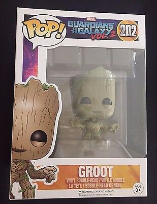 NEW Funko POP: Guardians of the Galaxy 2 Toddler Groot Toy Figure #202