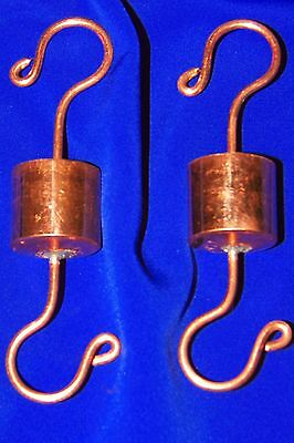 2 Grandpa's HandCrafted Copper Ant Trap Guard Moat 4 Hummingbird Feeders