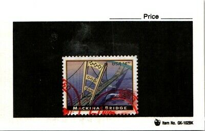 CSS  - US 4438, $4.90 Mackinac Bridge, Used, #1