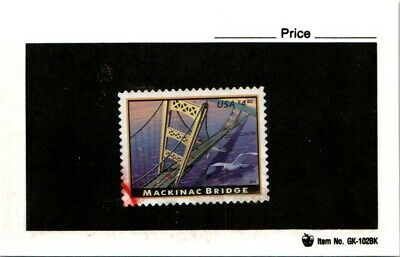 CSS  - US 4438, $4.90 Mackinac Bridge, Used, #2