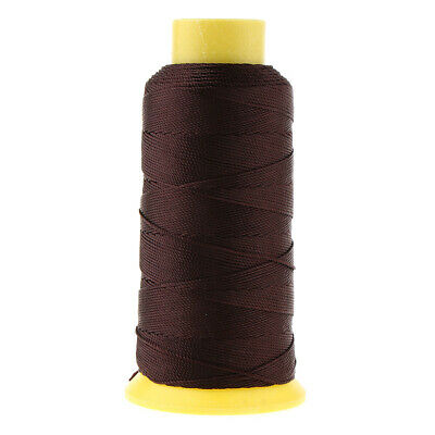 200M Bonded Nylon Upholstery Sewing Thread for Leather Canvas Beading Coffee
