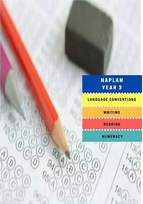 NAPLAN Past Papers Year 3 2008 to 2016 with answers