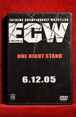ECW - Extreme Championship Wrestling - ONE NIGHT STAND 6-12-05 DVD Lance Storm +