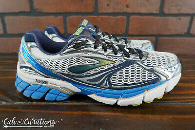 85da1a75629 VGC! BROOKS GHOST 4 Mens Size 9 Running Shoes NO INSOLES Gray Blue ...