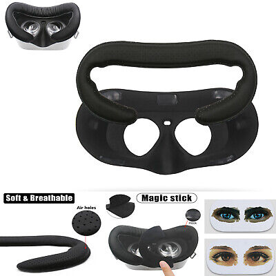 Breathable Leather Foam &Eye Stickers Replacement for Oculus Go Facial Interface