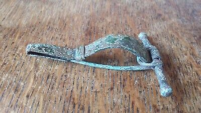 Roman Bow Brooch Fibula - English Detector Find East Sussex