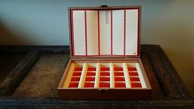 Vintage Boots 35Mm Slide Box With Index - Holds 175 - Very Good Condition
