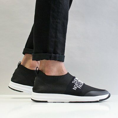 f1cde35bb THE NORTH FACE NSE Traction Knit Moc Sock Trainers in Black size 10 £100 at  ASOS