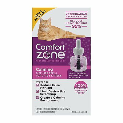 Comfort Zone Calming Diffuser Refill for Cats