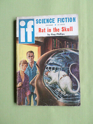 If- Worlds Of Science Fiction- Usa Mag Dec 1958- Phillip K. Dick -Rog Phillips
