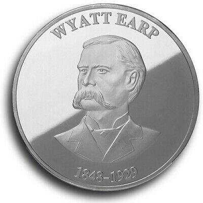 """Wyatt Earp and """"Doc"""" Holliday Commemorative Medals"""