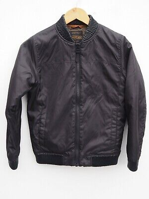 Fantastic NEXT Boy's Black Quilted Bomber Style Jacket / Coat age 10 years