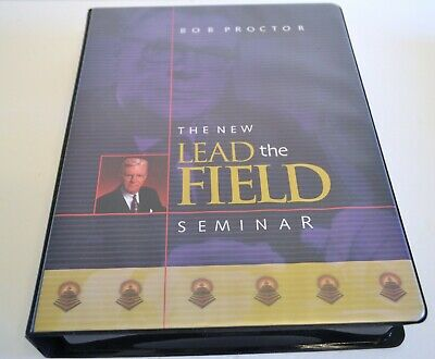 The New Lead The Field Seminar By Bob Proctor With Manual 12 Cassette Tapes
