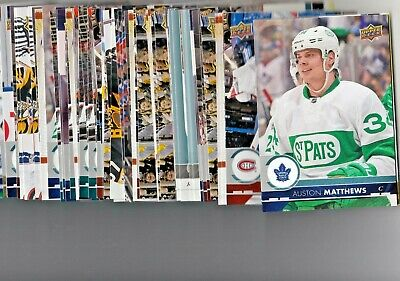 2017-18 Upper Deck Oversized Series 1 Complete Your Set U-Pick