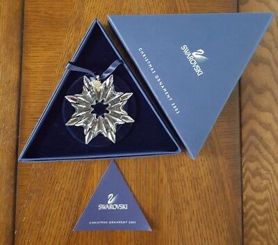 Swarovski Crystal Christmas Large Ornament Annual Edition 2016- 5180210