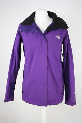 THE NORTH FACE Purple Ladies Hooded Jacket Size Small
