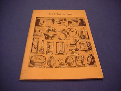 1961 The Story of Time - Catalogue of Timepieces / Clocks / Watches