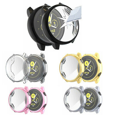 For Samsung Galaxy Watch Active 40mm TPU Full Body Cover Case Screen Protector