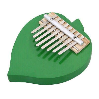 Peach shape African Kalimba Mbira Thumb Piano 8 keys Instrument