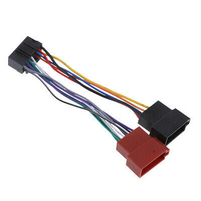 16 pin car stereo radio wiring harness for jvc connector adaptor cable lead