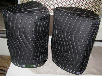 BEHRINGER B208D Premium Padded Black Speaker Covers (2)  Qty of 1 = 1 Pair!